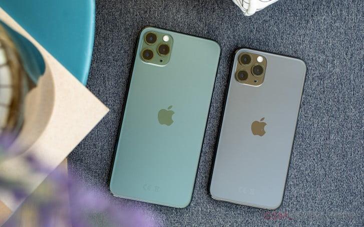 iphone 11 pro vs iphone 11 pro max design
