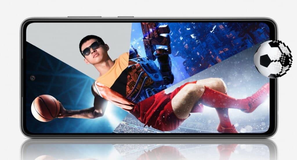 Samsung Galaxy a52 performance