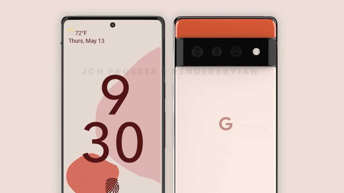 Google Pixel 6 leaks : new leak
